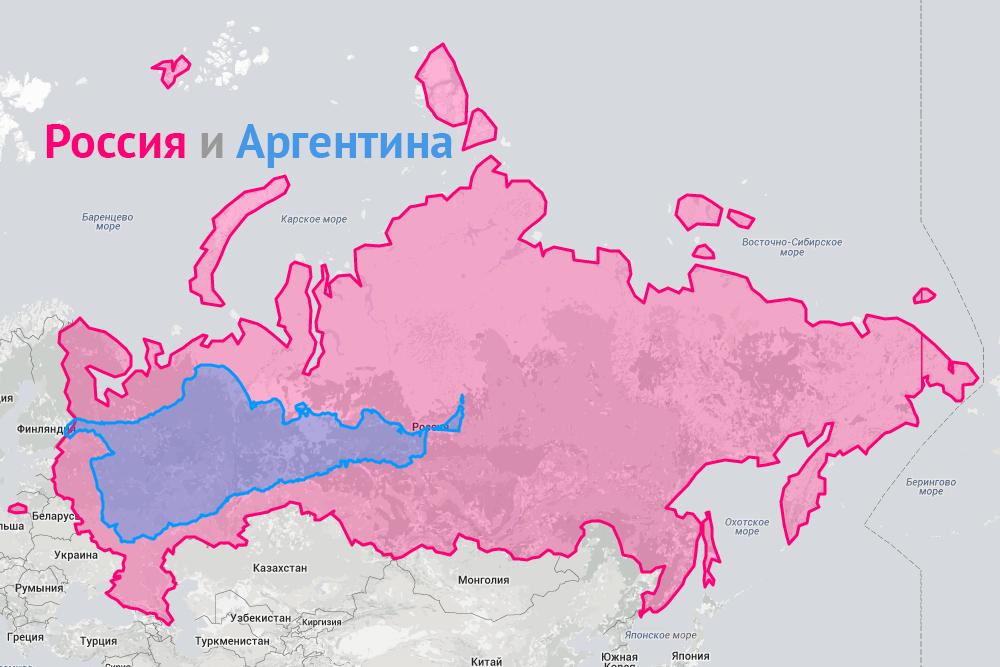 Сравнение России с Аргентиной